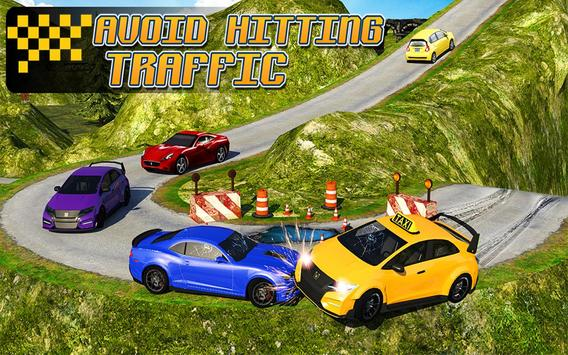Taxi Driver 3D : Hill Station 截图 9