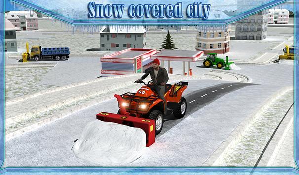 Snow Blower Truck Simulator 3D screenshot 10
