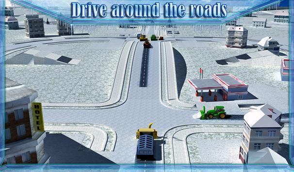 Snow Blower Truck Simulator 3D screenshot 11
