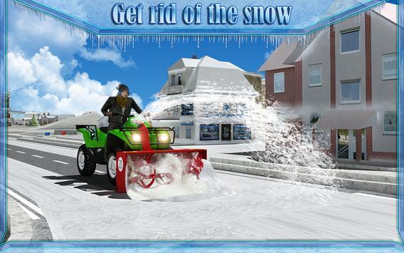 Snow Blower Truck Simulator 3D screenshot 7
