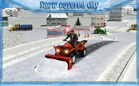 Snow Blower Truck Simulator 3D screenshot 5