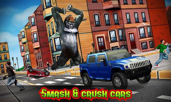 Ultimate Gorilla Rampage 3D poster