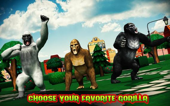 Ultimate Gorilla Rampage 3D apk screenshot