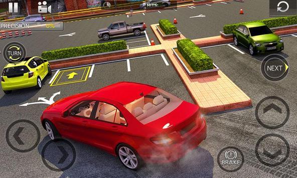 Amazing Car Parking Game poster