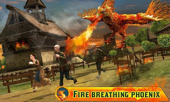 Angry Phoenix Revenge 3D poster