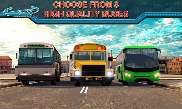 City Bus Driving Mania 3D स्क्रीनशॉट 3