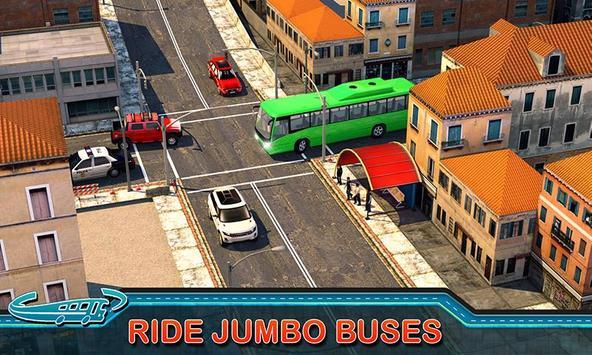 City Bus Driving Mania 3D скриншот 1