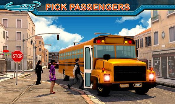 City Bus Driving Mania 3D скриншот 2