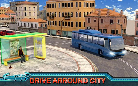 City Bus Driving Mania 3D स्क्रीनशॉट 4