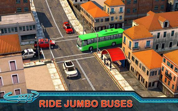 City Bus Driving Mania 3D скриншот 5