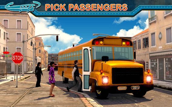 City Bus Driving Mania 3D скриншот 6