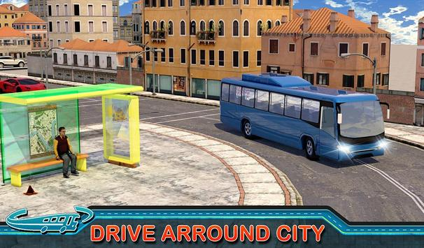 City Bus Driving Mania 3D स्क्रीनशॉट 8