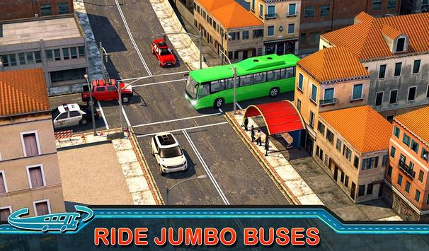 City Bus Driving Mania 3D स्क्रीनशॉट 9