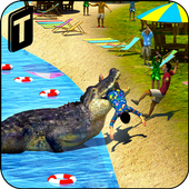 Crocodile Simulator 3D icon