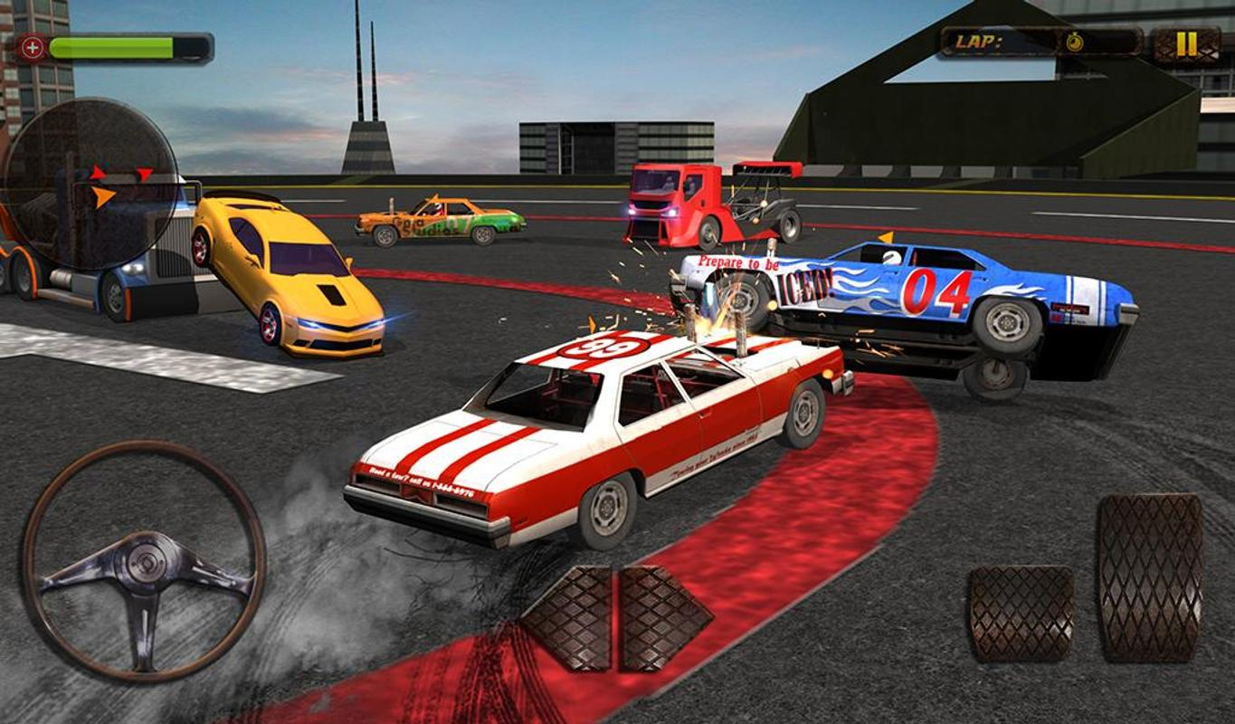 Car Wars 3D: Demolition Mania For Android