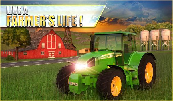 10 Schermata Farm Tractor Simulator 3D