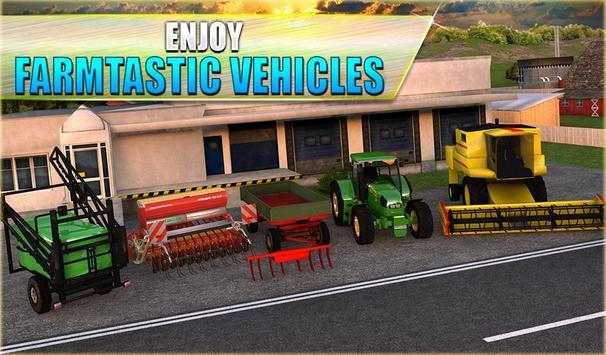 14 Schermata Farm Tractor Simulator 3D
