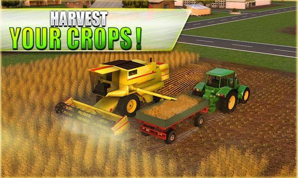 1 Schermata Farm Tractor Simulator 3D