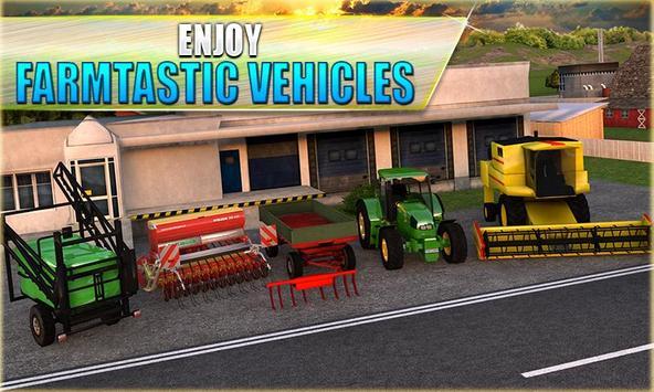 4 Schermata Farm Tractor Simulator 3D