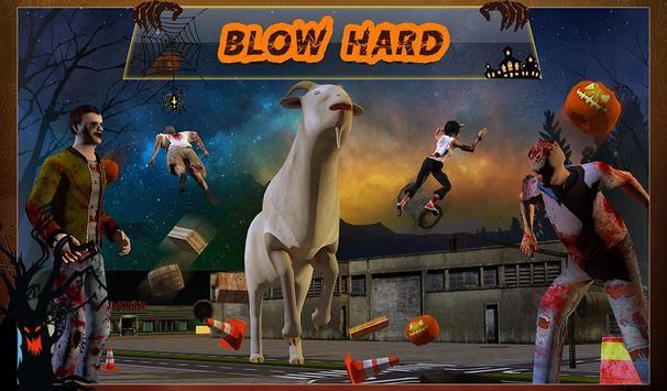 Goat-Z in Zombie City apk screenshot
