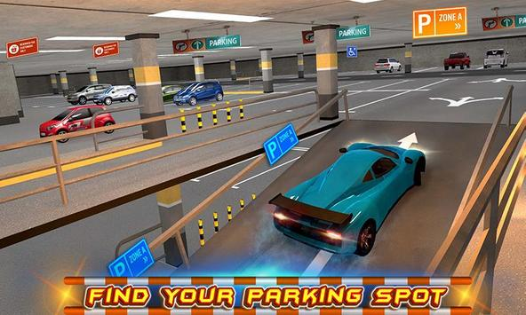 Multi-storey Car Parking 3D poster