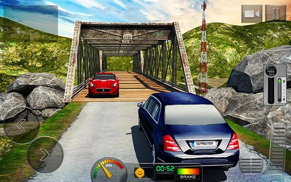 Offroad Hill Limo Driving 3D apk screenshot