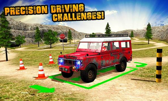 Offroad Parking Challenge 3D poster