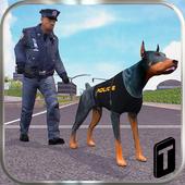 Police Dog Simulator 3D ícone