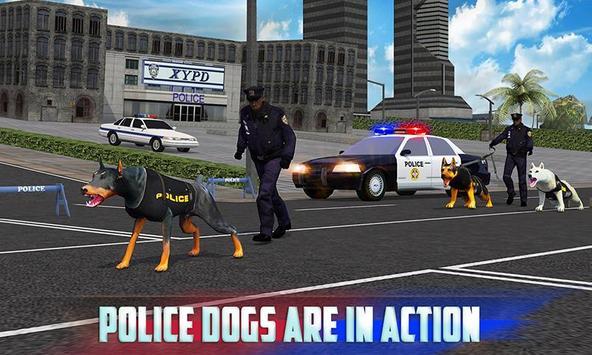 Police Dog Simulator 3D imagem de tela 4