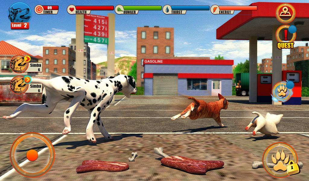 Street Dog Simulator 3D for Android - APK Download