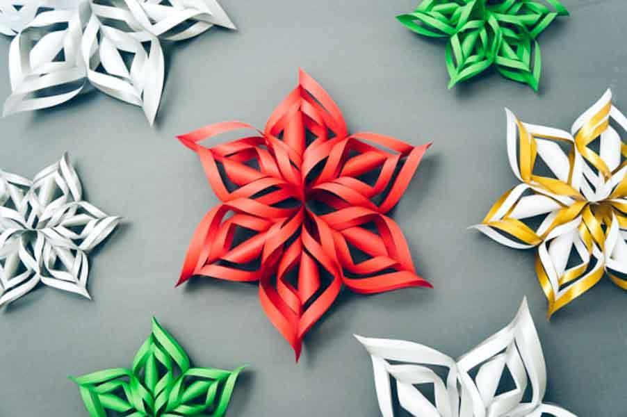 How to Make a 3D Paper Snowflake: 12 Steps (with Pictures) | 600x902