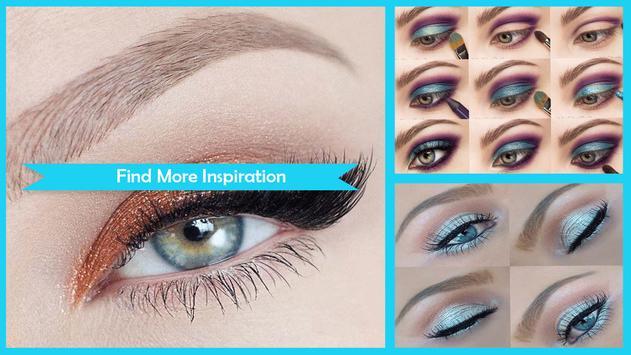 Metalic Eyes Makeup Step by Step screenshot 4
