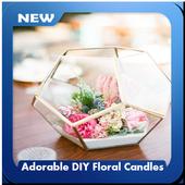 Adorable DIY Floral Candles icon