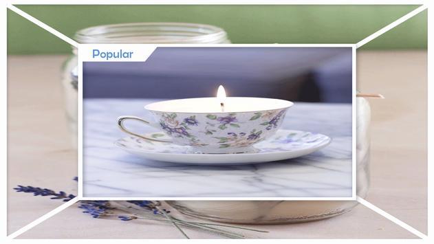 Adorable DIY Floral Candles screenshot 1