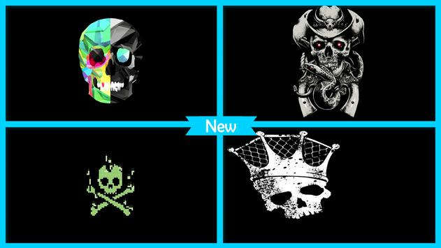 Skull Wallpaper screenshot 3