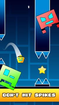 Tappy Geometry: Endless Arcade apk screenshot