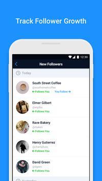Followers+ screenshot 1