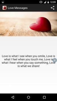 Love messages 2017 (cute love) screenshot 1