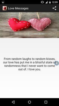 Love messages 2017 (cute love) screenshot 3