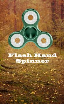 flash hand spinner pro poster