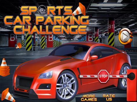 Sports Car Parking Challenge poster