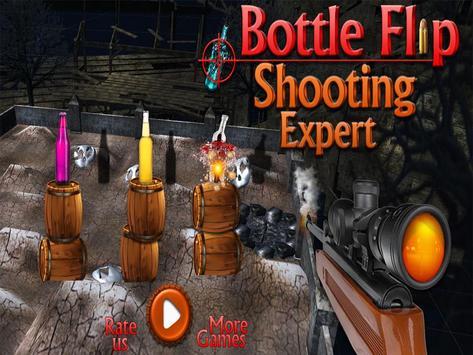 Bottle Flip Shooting Expert poster