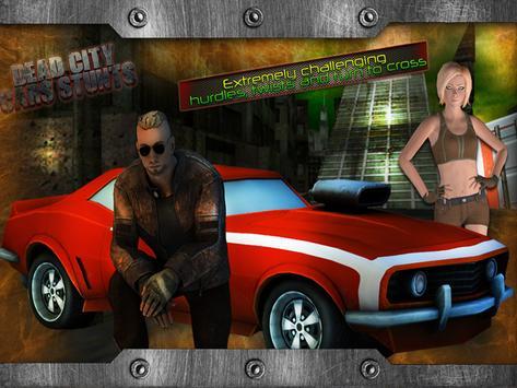 Dead City Cars Stunts apk screenshot