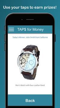Taps for Money apk screenshot