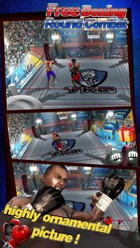 Free Boxing Round Combat poster