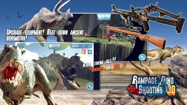 Rampage Dino Shooting 3D apk screenshot
