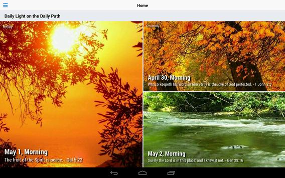 Daily Light on the Daily Path - Lite apk screenshot
