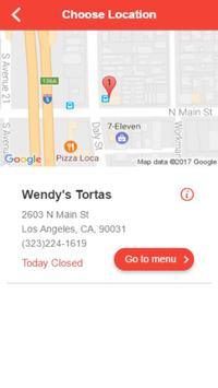 Wendy's Tortas apk screenshot