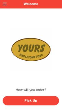 Yours Wholesome Foods poster