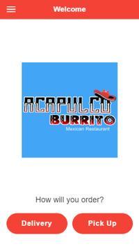 Acapulco Burrito Mexican Restaurant poster